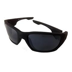 9a877a145650 Mat sort rå solbrille til mænd - Design nr. 3196