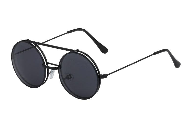 Den smarte hipster moderigtige brille med Flip Up solbriller