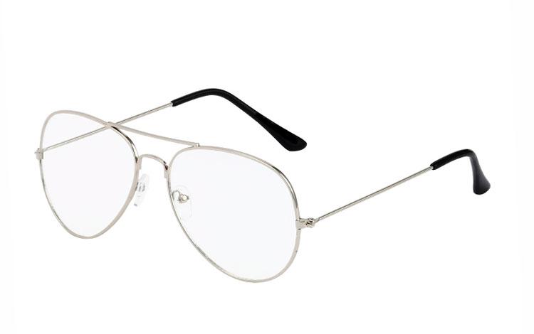 pilotbriller med styrke