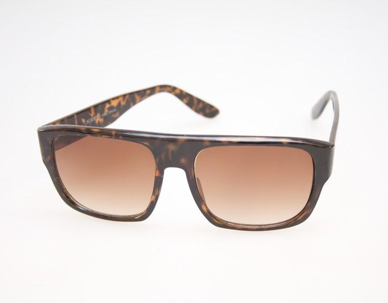 cb5ae357870a Enkelt solbrille design i tortoise brun   skildpadde brun - Design nr. 474