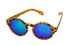 0e541b3f38cf Design nr. s1124 · Fed rund solbrille i moderne design.