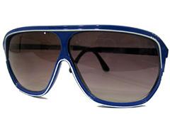 957bced10594 Blå herre millionaire solbrille med hvid stribe - Design nr. 851