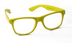 a3e725de6aa4 Wayfarer brille med brilleglas uden styrke i gul. - Design nr. 893